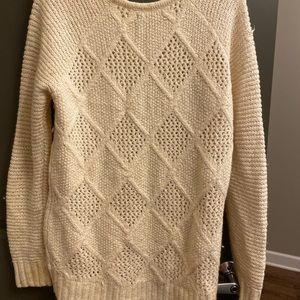 Cream or Off white Sweater